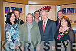 "Jim McCarthy, Digimac Video productions (3rd left) at the 1st showing of the Fenit Development association ""Fenit, Spa production"" at  Siemsa Tire, Tralee last Friday night, l-r: Fiona Ladden, Mike O'Neill (FDA), Jim McCarthy, Minister Jimmy Deenihan, John Moriarty and Angela Deenihan."
