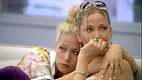 Celebrity Big Brother 2017<br /> Amelia Lily, Sarah Harding<br /> *Editorial Use Only*<br /> CAP/KFS<br /> Image supplied by Capital Pictures