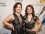 Jules Foldesi and Laura Irion attends 'Sunday In The Park With George' Broadway opening night after party at New York Public Library on February 23, 2017 in New York City.