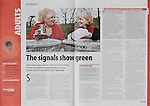 Tear sheet showing photography in context of magazines, books and websites taken for clients in Bath, Bristol and Swindon. Editorial photos taken for Community Care magazine.