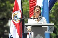 Laura Chinchilla presidenta de Costa Rica