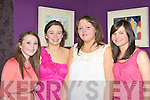 Alanna O'Leary, Maire Murphy, Julianne O'Sullivan and Neila Cronin Rathmore enjoying ladies Christmas in the Silver Fox restaurant Killarney on Thursday night.