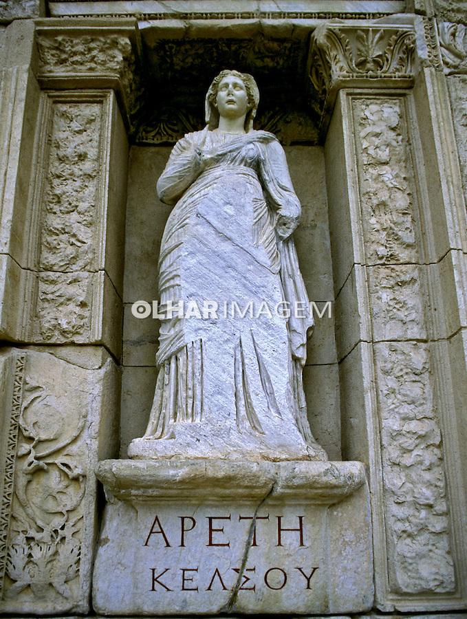 Ruínas da Biblioteca de Celso em Efeso. Foto de João Caldas