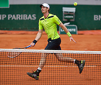 France, Paris, 28.05.2014. Tennis, French Open, Roland Garros, Andy Murray (GRB)<br /> Photo:Tennisimages/Henk Koster