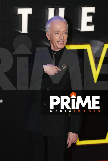 Anthony Daniels attends the STAR WARS: 'The Force Awakens' EUROPEAN PREMIERE at Odeon, Empire & Vue Cinemas, Leicester Square, England on 16 December 2015. Photo by David Horn / PRiME Media Images