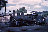 3/4 fireman's-side view of D&amp;RGW #464 at Durango.<br /> D&amp;RGW  Durango, CO