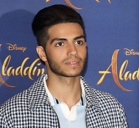 Mena Massoud at the 'Aladdin' Cast Photocall in the Rosewood Hotel, Holborn, London on May 10th 2019<br /> CAP/ROS<br /> &copy;ROS/Capital Pictures