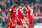 03.11.2018, Allianz Arena, Muenchen, GER, 1.FBL,  FC Bayern Muenchen vs. SC Freiburg, DFL regulations prohibit any use of photographs as image sequences and/or quasi-video, im Bild enttaeuscht David Alaba (FCB #27) <br /> <br />  Foto &copy; nordphoto / Straubmeier