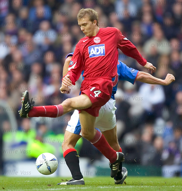 Darren Mackie, Aberdeen.stock season 2004-2005.pic willie vass