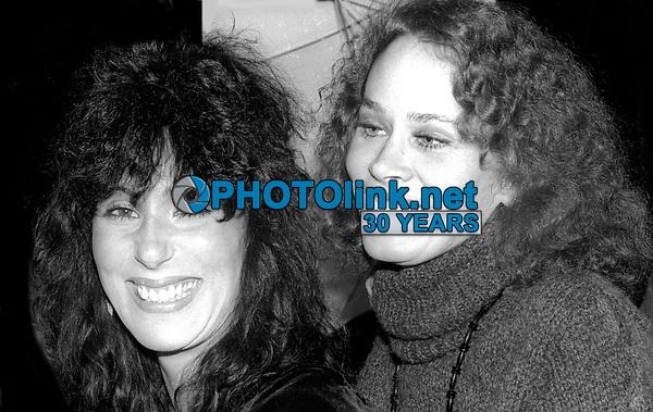 Cher Karen Black 1982<br /> Photo By Adam Scull/PHOTOlink.net