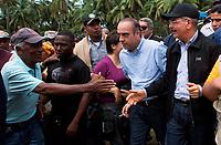 Huracán María deja 38 localidades incomunicadas en República Dominicana