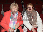 Kathleen Sheils and Anne Cottrell at the Keith Barry show in the TLT. Photo:Colin Bell/pressphotos.ie
