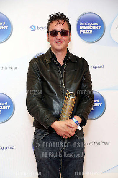 Richard Hawley attending the Barclaycard Mercury Music Prize albums of the Year nominations 2012 held at the Hospital club, London. 12/09/2012 Picture by: Henry Harris / Featureflash.....
