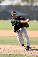 Rhett Ballard, Colorado Rockies 2010 minor league spring training..Photo by:  Bill Mitchell/Four Seam Images.