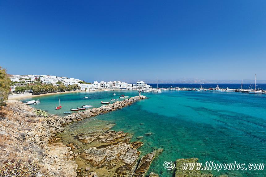 Pisso Livadi beach in Paros island, Greece