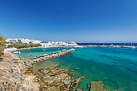 Pisso Livadi beach in Paros island, Greece