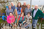 Pictured at the Basket Making workshop in Gortbrack Organic Farm on Saturday, front row l-r: Suzanne Raggett, Cathy Eastman, Ita McConville. Back row l-r: Katrin Schwart, Ian McGregor, Ruth Griffin, David Chalmers, Noreen Breen and Eamon Fleming