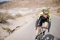 Callum Scotson (AUS/Mitchelton-Scott) during the Mitchelton-Scott training camp in Almeria, Spain<br /> <br /> february 2019<br /> <br /> ©kramon