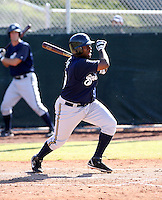Zelous Wheeler / Milwaukee Brewers 2008 Instructional League..Photo by:  Bill Mitchell/Four Seam Images