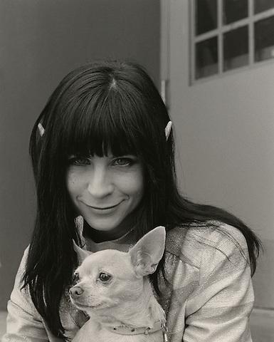 Reverend Jen, 2007.  Performer, underground movie actor, painter, poet, preacher.
