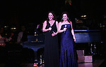 Melissa Errico and Debbie Gravitte perform Jerry Herman's Broadway with the National Symphony Orchestra at The John F. Kennedy Center for Performing Arts on March 14, 2009, in Washington D.C. (Photo by Sue Coflin/Max Photos)