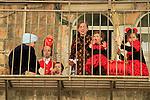 Israel, Jerusalem, Purim in the Ultra Orthodox Mea Shearim neighborhood