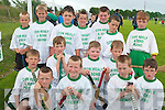The Ballyduff under ten hurling team who took  part in the Hurling bliz in Lixnaw on Saturday were front l-r Dylan Robinson, Ian Guerin, Kiern Doherty and Jack Nolan.  Middle l-r Darragh McCarthy, Darren O'Connor, Andrew Lynch and  Aidan Lynch.  Back l-r Michea?l Burke, Dyrle McCarthy, T J Brown, Chris White, T j Linnane, Darragh Goulding and Sean Williams.. .   Copyright Kerry's Eye 2008