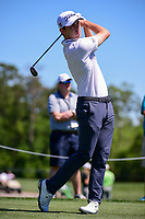 Patrick Cantlay (USA) watches his tee shot on 3 during round 1 of the Shell Houston Open, Golf Club of Houston, Houston, Texas, USA. 3/30/2017.<br /> Picture: Golffile | Ken Murray<br /> <br /> <br /> All photo usage must carry mandatory copyright credit (&copy; Golffile | Ken Murray)