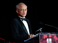 Washington, DC - May 18, 2017: Cui Tiankai, Chinese Ambassador to the United States, speaks after receiving an award at the C100 Annual Awards dinner held at the Ronald Reagan building in the District of Columbia May 18, 2017. The C100 is a group of American Citizens of Chinese heritage who have distinguished themselves through extraordinary achievements.  (Photo by Don Baxter/Media Images International)