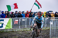 Eli Iserbyt (BEL)<br /> <br /> Men's Elite race<br /> UCI 2020 Cyclocross World Championships<br /> Dübendorf / Switzerland<br /> <br /> ©kramon