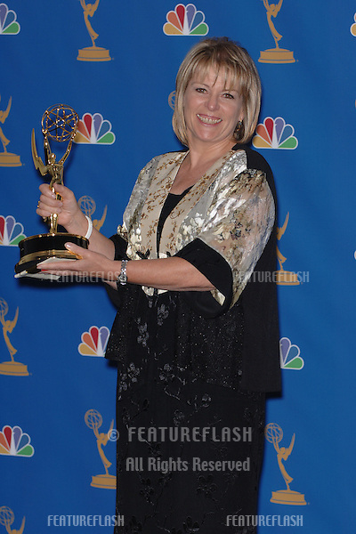"Producer HILARY BEVAN-JONES - winner for ""The Girl in the Cafe"" -  at the 2006 Primetime Emmy Awards at the Shrine Auditorium, Los Angeles..8 27, 2006 Los Angeles, CA.© 2006 Paul Smith / Featureflash"