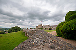 Rockingham, Northamptonshire, United Kingdom, 1st July 2019, A view of Rockingham Castle and grounds, Credit:Jonathan Clarke/JPC Images