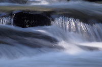 Water Rushing over Rocks in Kennisis River Haliburton Ontario Canada