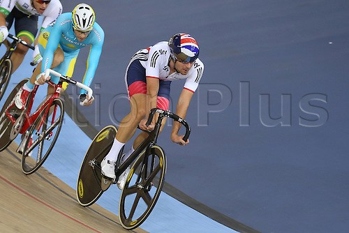 05.03.2016. Lee Valley Velo Centre, London England. UCI Track Cycling World Championships Mens Points Race.   DIBBEN Jonathan (GBR)  winner