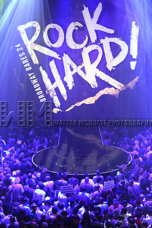 """Crowds and Atmosphere at Broadway Cares/Equity Fights AIDS' """"Broadway Bares, Rock Hard!"""" at Hammerstein Ballroom June 22, 2014 in New York City."""