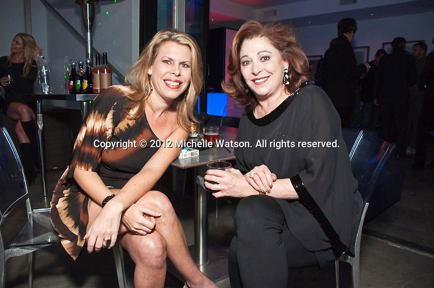 Marcy de Luna, Laura Greenberg and Mauney Mafrige celebrate their birthdays at Hudson Lounge