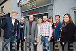 Comedy night Il Forno on Thursday. Pictured l-r  Pat O'Shea, Sean Marshall, Seamus Kelly, Anita Moriarty, Karen Moriarty, Mike Moriarty, Steve Mills and Camilla Chameleon