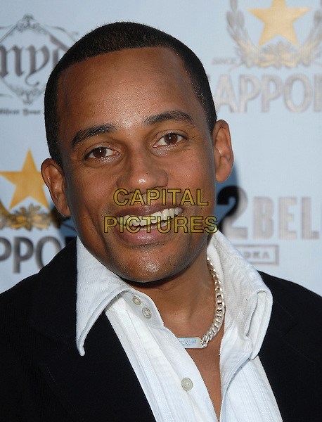 "HILL HARPER.attends The Launch of Jaime Pressly and Hill Harper's ""Adopt-a-School Initiave"" held at RJ Cutler's Estate in The Hollywood Hills, California, USA, August 12, 2006..portrait headshot.Ref: DVS.www.capitalpictures.com.sales@capitalpictures.com.©Debbie VanStory/Capital Pictures"