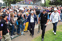Phil Mickelson (USA) departs 18 following round 3 of the World Golf Championships, Mexico, Club De Golf Chapultepec, Mexico City, Mexico. 3/4/2017.<br /> Picture: Golffile | Ken Murray<br /> <br /> <br /> All photo usage must carry mandatory copyright credit (&copy; Golffile | Ken Murray)