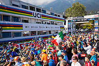 Picture by Alex Whitehead/SWpix.com - 29/09/2018 - Cycling - UCI 2018 Road World Championships - Innsbruck-Tirol, Austria - Elite Women's Road Race.