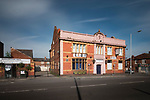 The old Bulls Head pub in Reddish Lane, Gorton Manchester, SK5 6NY. As Gorton AFC, Manchester City played on land behind the Bulls Head, and used the pub as changing rooms, between 1885-1887. Part of the Ghost Grounds project.