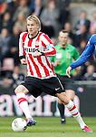 Nederland, Eindhoven, 14 april 2012.Eredivisie .Seizoen 2011-2012.PSV-AZ.Ola Toivonen van PSV