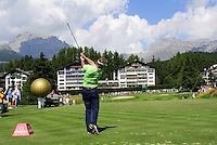 Joost Luiten Swing Omega European Masters 2013