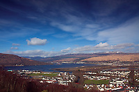 Fort William and Loch Linnhe from Cow Hill, Lochaber