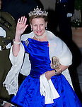 """QUEEN SONJA OF NORWAY.Wedding of HRH the Hereditary Grand Duke and Countess Stéphanie de Lannoy.Gala Dinner at the Grand-Ducal Palace, Luxembourg_19-10-2012.Mandatory credit photo: ©Dias/NEWSPIX INTERNATIONAL..(Failure to credit will incur a surcharge of 100% of reproduction fees)..                **ALL FEES PAYABLE TO: """"NEWSPIX INTERNATIONAL""""**..IMMEDIATE CONFIRMATION OF USAGE REQUIRED:.Newspix International, 31 Chinnery Hill, Bishop's Stortford, ENGLAND CM23 3PS.Tel:+441279 324672  ; Fax: +441279656877.Mobile:  07775681153.e-mail: info@newspixinternational.co.uk"""
