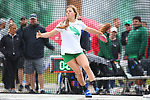 DENTON, TX - APRIL 6:  University of North Texas Track & Field at North Texas Mean Green Athlete Field in Denton on April 6, 2019 in Denton, Texas