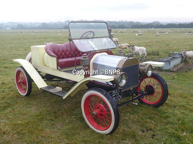 BNPS.co.uk (01202 558833)<br /> Pic: PhilYeomans/BNPS<br /> <br /> Yours for £13,500 - 1911 Model T two seater.<br /> <br /> Garage that time forgot...<br /> <br /> Business is booming at Neil Tuckets time warp garage in the heart of Buckinghamshire - Where you can by any car…as long as its a Model T Ford.<br /> <br /> Despite his newest models being nearly 90 years old, Neil struggles to keep up with demand with customers snapping up one a week, despite their rudimentary levels of comfort and trim.<br /> <br /> Neil sources his spares from all over the globe and carefully puts the machines back together again.<br /> <br /> 'There like a giant meccano set really, and so beautifully simple and reliable they just won't let you down...You also don't require road tax or and MOT!'