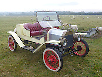BNPS.co.uk (01202 558833)<br /> Pic: PhilYeomans/BNPS<br /> <br /> Yours for &pound;13,500 - 1911 Model T two seater.<br /> <br /> Garage that time forgot...<br /> <br /> Business is booming at Neil Tuckets time warp garage in the heart of Buckinghamshire - Where you can by any car&hellip;as long as its a Model T Ford.<br /> <br /> Despite his newest models being nearly 90 years old, Neil struggles to keep up with demand with customers snapping up one a week, despite their rudimentary levels of comfort and trim.<br /> <br /> Neil sources his spares from all over the globe and carefully puts the machines back together again.<br /> <br /> 'There like a giant meccano set really, and so beautifully simple and reliable they just won't let you down...You also don't require road tax or and MOT!'