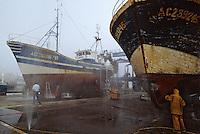 Europe/France/Aquitaine/33/Gironde/Bassin d'Arcachon/Arcachon: Le chantier naval
