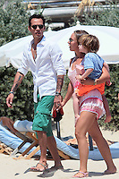 Marc Anthony and girlfriend Chloe Green on vacation in Saint Tropez - France